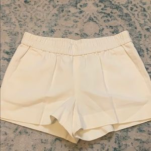 J. crew cotton pull-on waistband shorts-size 2